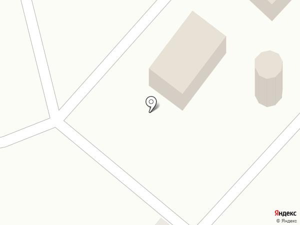 Ледяной дом на карте Засечного