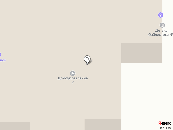 Детская библиотека №3 на карте Саранска
