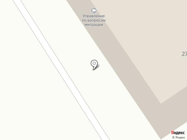 Отдел полиции №4 на карте Саранска