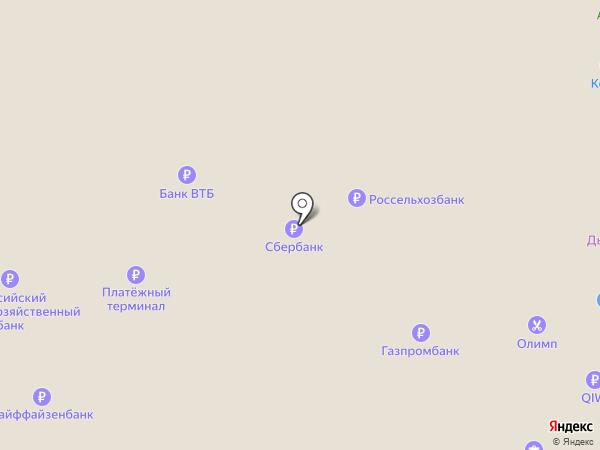 Банкомат, Межрегиональный промышленно-строительный банк, ПАО на карте Саранска