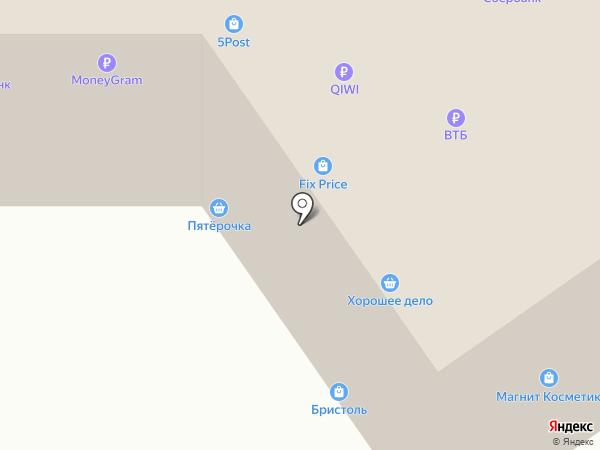 Пятерочка на карте Лямбиря
