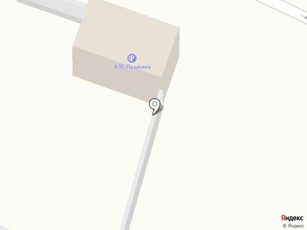 Автостоянка на карте Саранска
