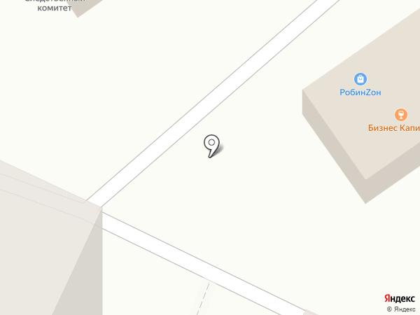 Ива на карте Саранска
