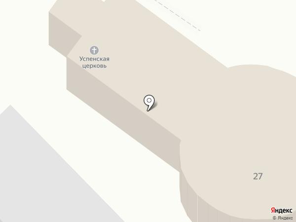 Храм Успения Пресвятой Богородицы на карте Пензы