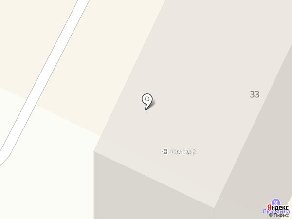 Людмила на карте Саранска