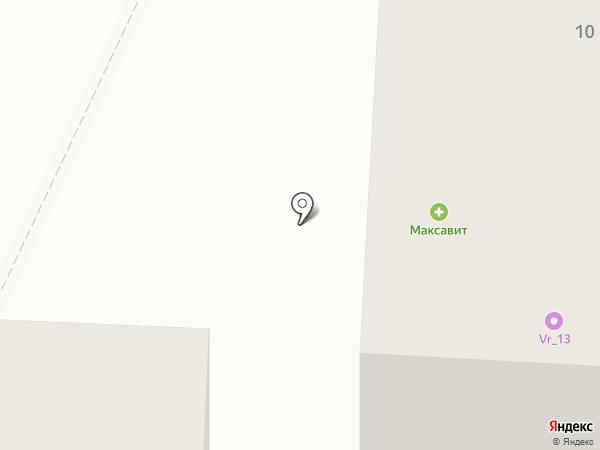 Литера на карте Саранска