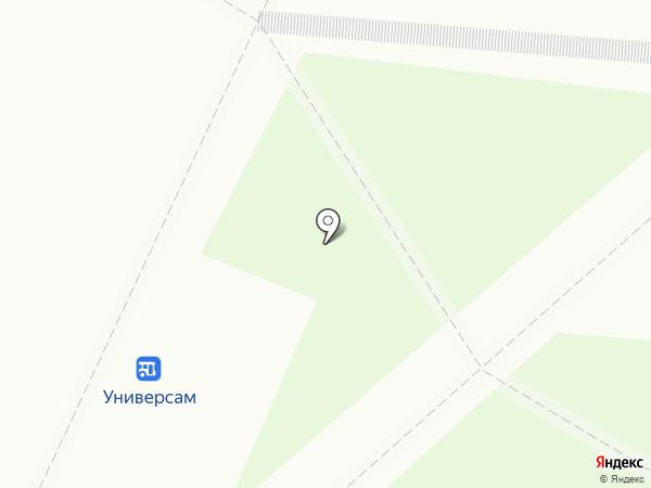 Гослото на карте Саранска