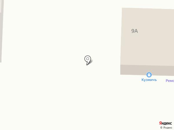 Саранск-Мастер на карте Саранска