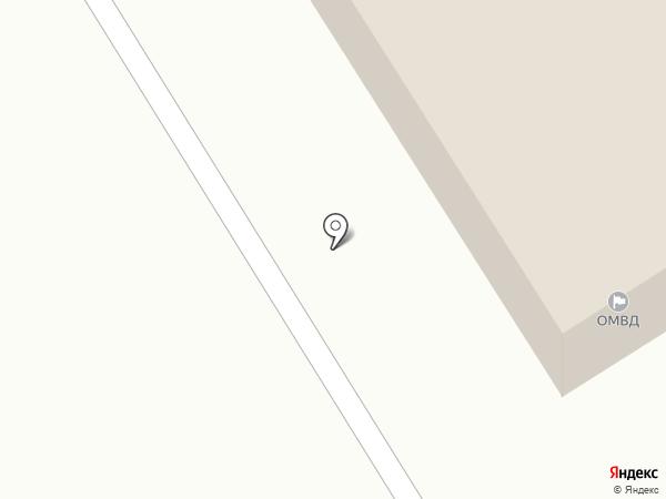 Отдел ГИБДД отдела МВД РФ по Лямбирьскому муниципальному району на карте Лямбиря