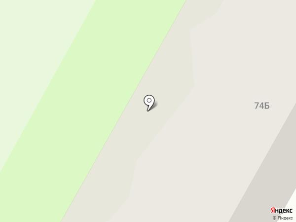 Домоуправление №19 на карте Саранска