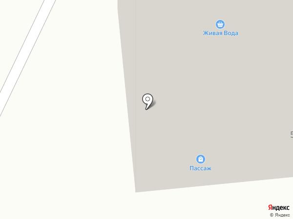 Пассаж на карте Саранска