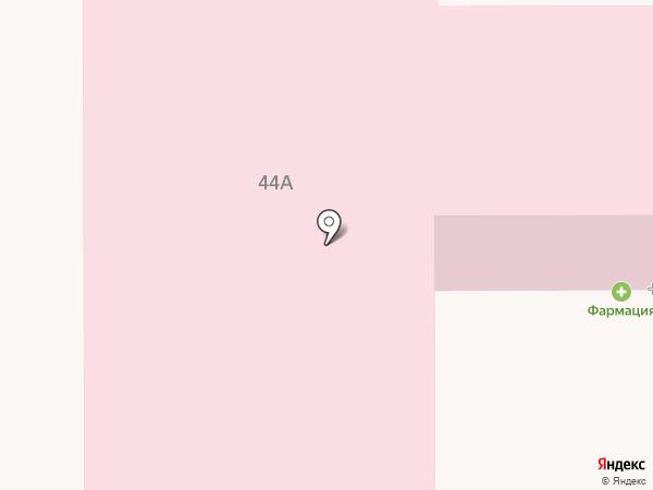 Поликлиника №14 на карте Саранска