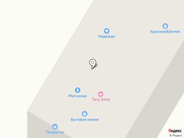 Надежда на карте Саранска