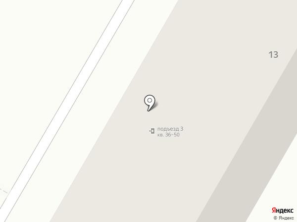 Элегант на карте Саранска