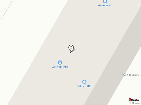 Точка Суши на карте Саранска