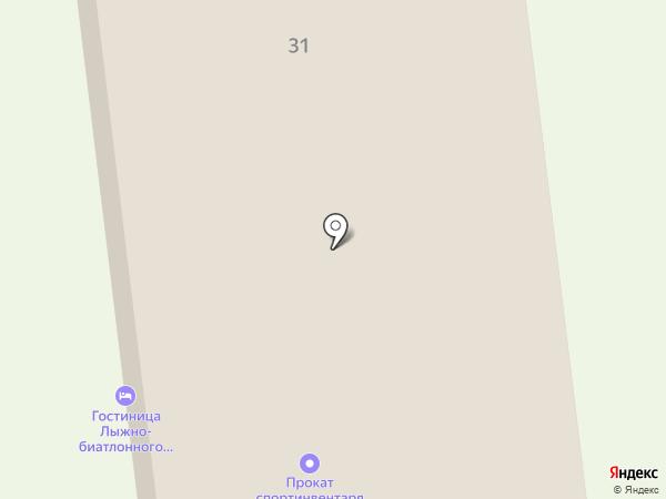 Энерджи на карте Саранска