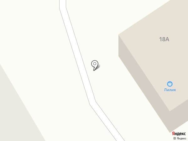 Лилия на карте Лямбиря