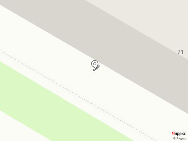 Имплозия на карте Саранска