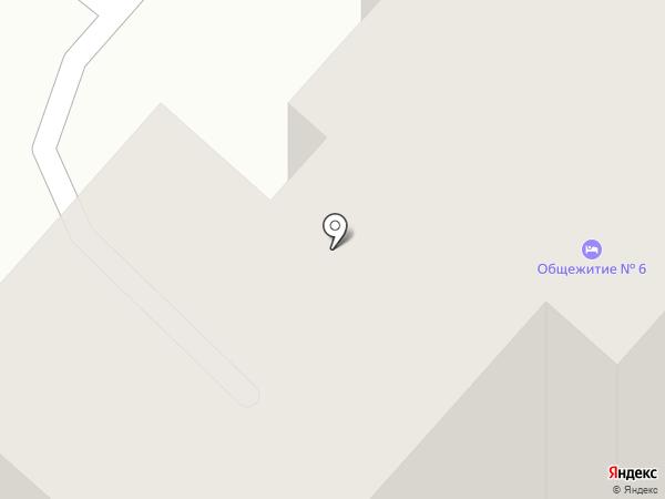 Общежитие на карте Саранска