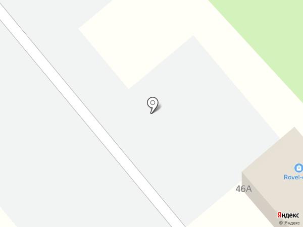 Rovel-club на карте Пензы