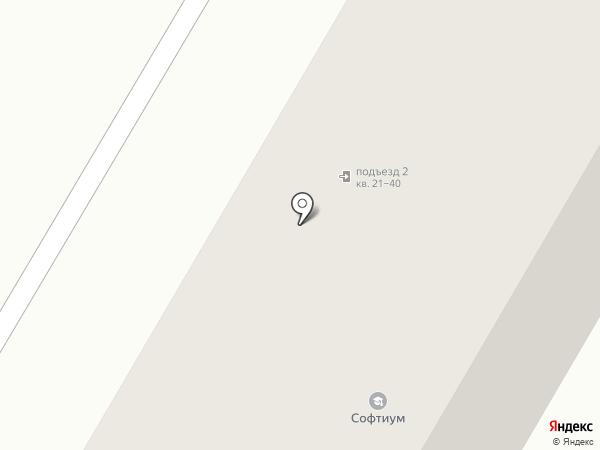 Детская библиотека №5 им. С.Я. Маршака на карте Саранска
