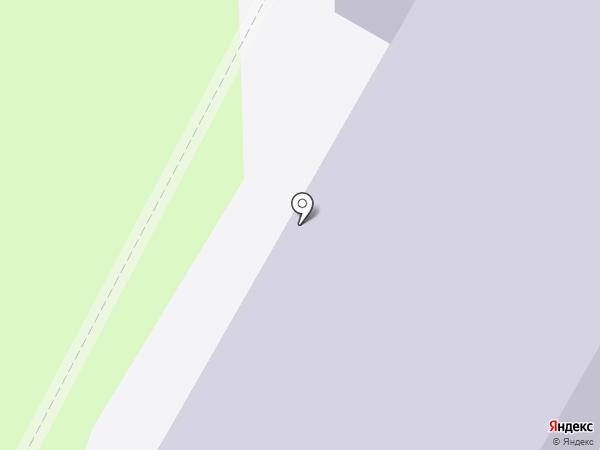 Средняя общеобразовательная школа №24 на карте Саранска