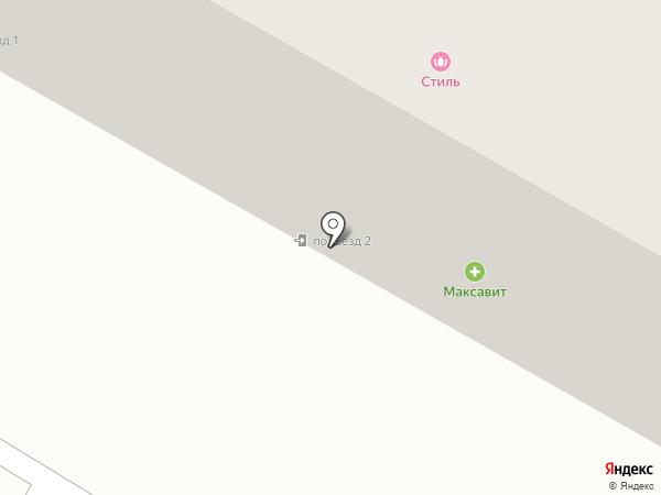 Стиль на карте Саранска
