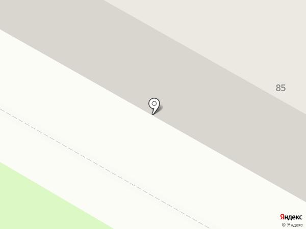 Межрегиональный промышленно-строительный банк на карте Саранска