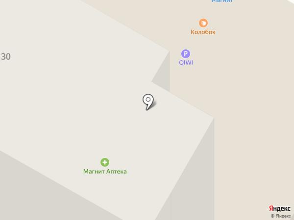 Парма на карте Саранска