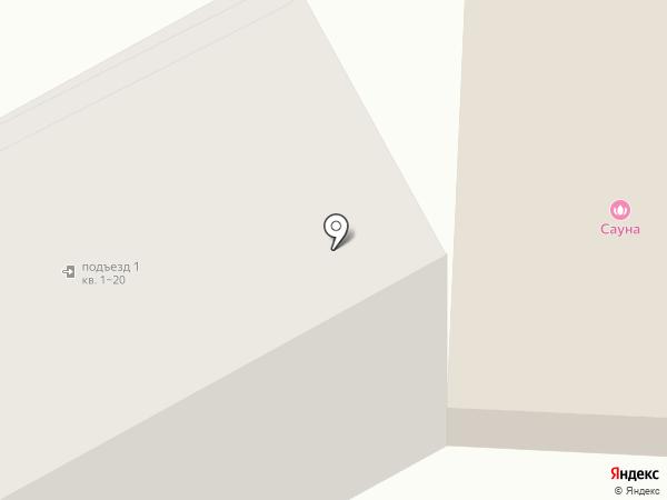Сауна на карте Саранска