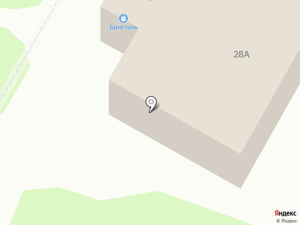 Бристоль на карте Саранска