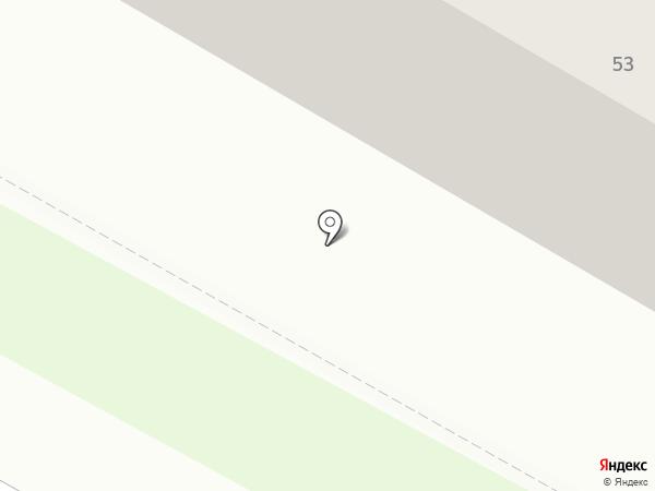 Южный на карте Саранска