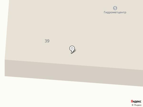 Мордовский центр по гидрометеорологии и мониторингу окружающей среды на карте Саранска