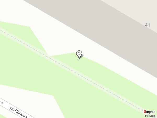Транс-экс на карте Саранска