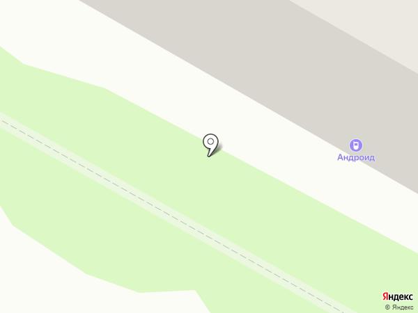 ANDROID на карте Саранска