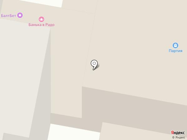 Банька на карте Саранска