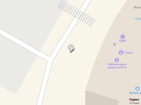 Coffee Club на карте Саранска