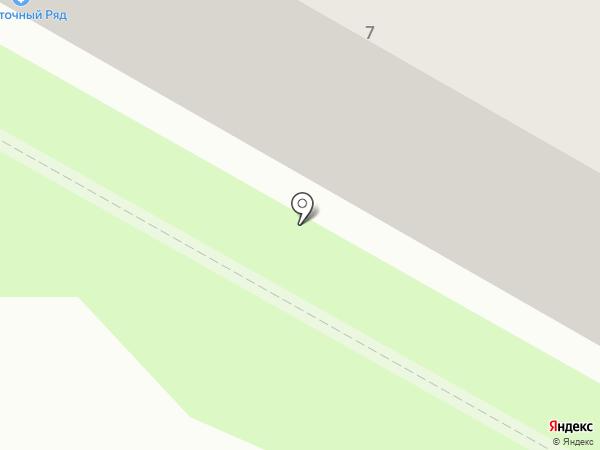 Палитра на карте Саранска