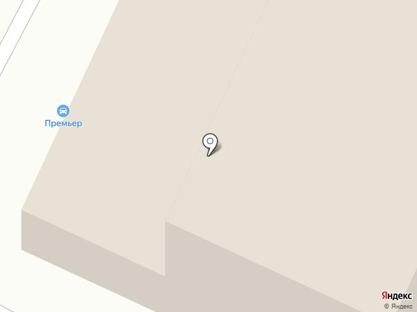 Вираж на карте Саранска