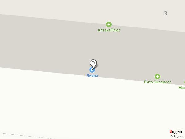 Вита на карте Саранска