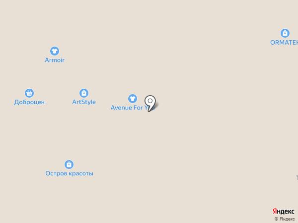 Банкомат, АКБ РОСБАНК на карте Саранска