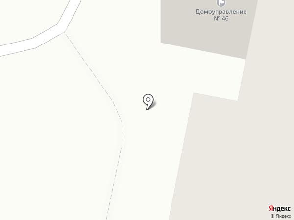 Домоуправление №46 на карте Саранска