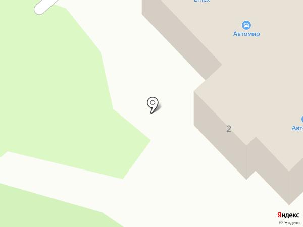 Автомир на карте Заречного