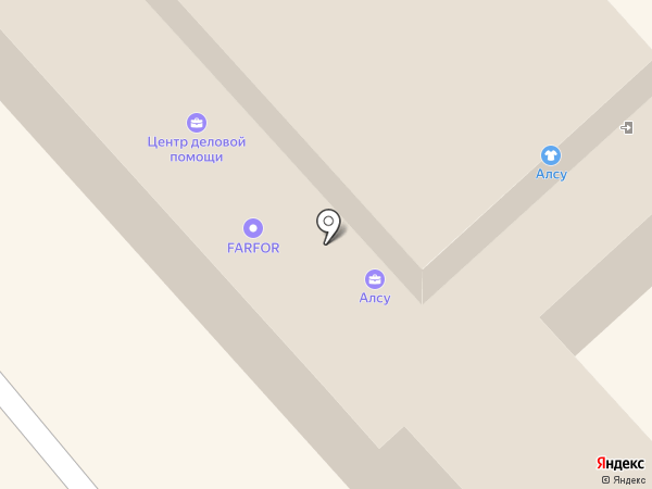 Отделение почтовой связи Заречный-5 на карте Заречного