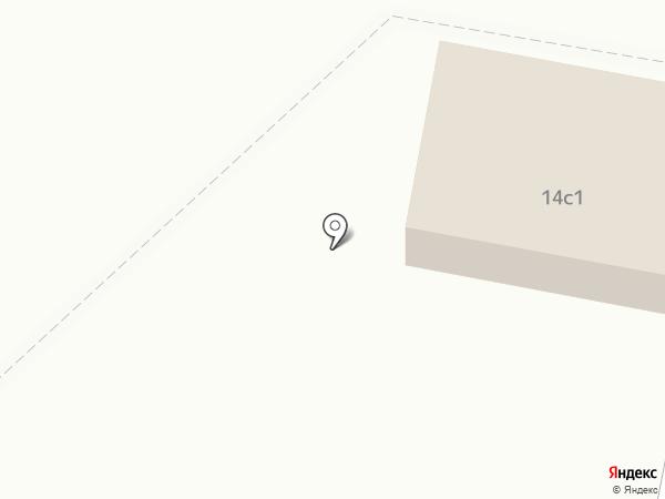 Магазин хлебобулочных изделий на карте Саранска