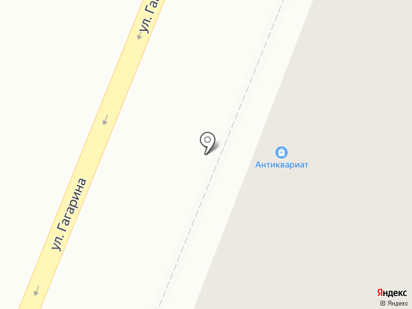 Антикварный магазин на карте Саранска