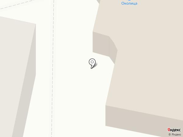 Околица на карте Заречного