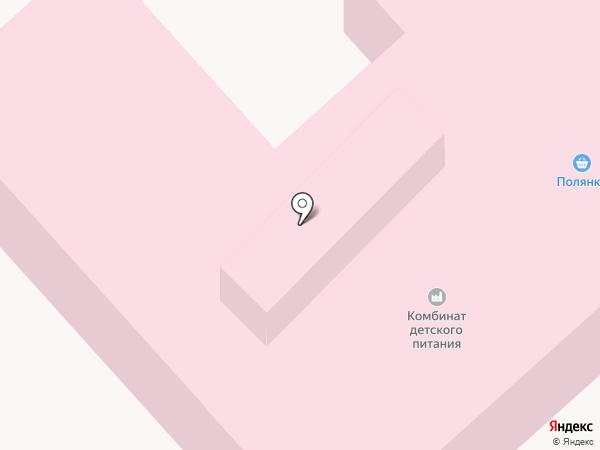 Полянка на карте Заречного