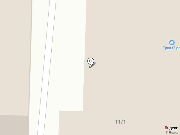 VIP-мобиль на карте Саранска