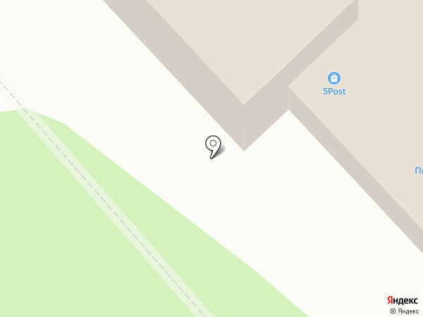 Счастливый кроха на карте Заречного